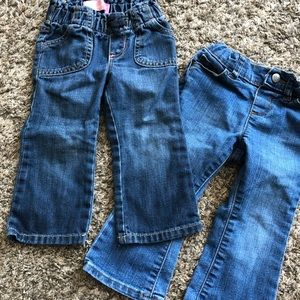 Two pair of jeans 18-24 months